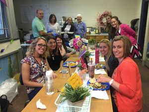PTO Celebrates Teachers with Lunch